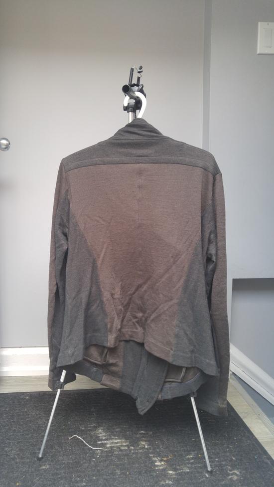 Julius FW12 Cupra/Wool Draped Jacket (sz 2, fits 48) Size US M / EU 48-50 / 2 - 2