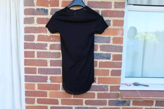 Balmain Black Ribbed Knit T-shirt Size US XS / EU 42 / 0 - 9