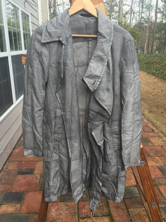 Julius SS14 Silk/Nylon Dusty Grey Coat Size US M / EU 48-50 / 2 - 1