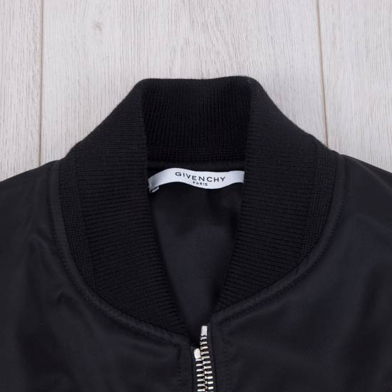 Givenchy 2550$ New Black Padded Nylon Illuminati Patch Bomber Jacket Size US L / EU 52-54 / 3 - 10