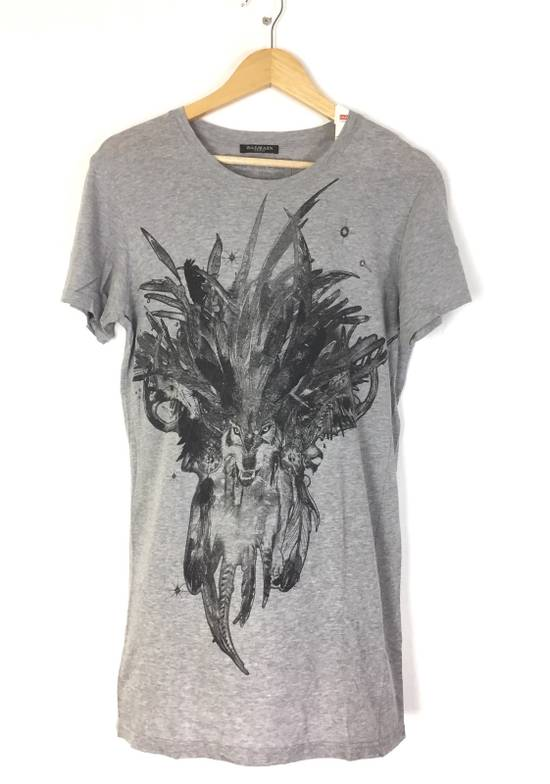 Balmain Ballmain paris tshirt big animal face made in france Size US L / EU 52-54 / 3
