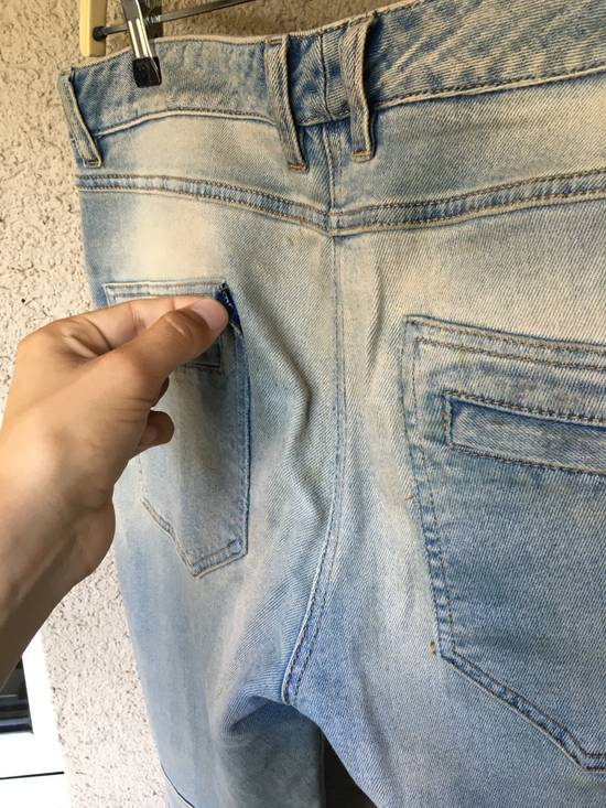 Balmain Womens Biker Jeans Size US 32 / EU 48 - 3