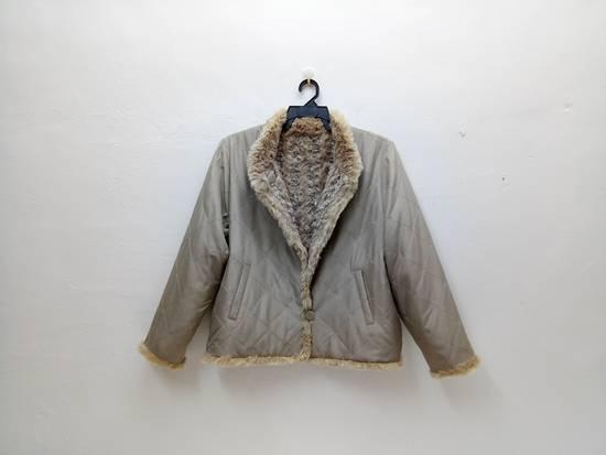 Balmain Vintage Balmain Paris Fur and Silk Reversible Jacket RARE Design Size US L / EU 52-54 / 3 - 5