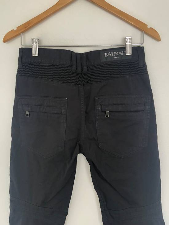 Balmain Balmain Twill Cotton Biker Denim Size US 29 - 6