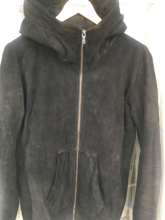 Julius Julius leather hood jacket Size US M / EU 48-50 / 2 - 3