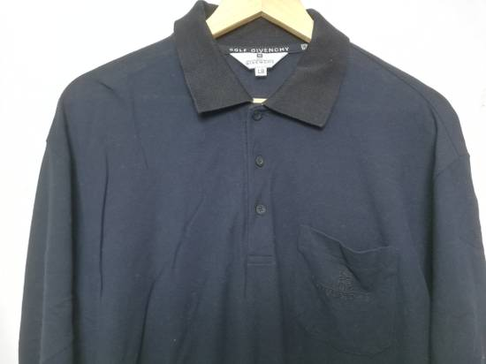 Givenchy Givenchy Long Sleeves Golf Polo Shirt Size US L / EU 52-54 / 3 - 1