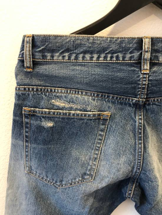 Balmain Distressed Jeans Blue Size US 31 - 9