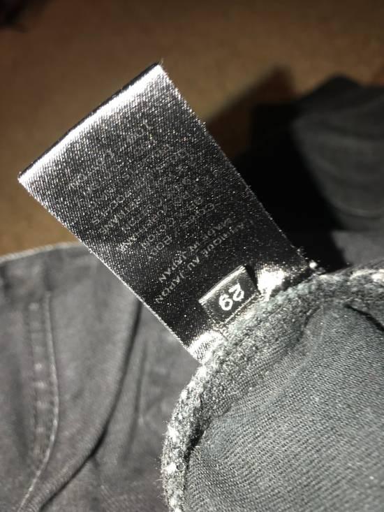 Balmain Balmain Black Cotton Denim Biker Jeans Size US 29 - 4