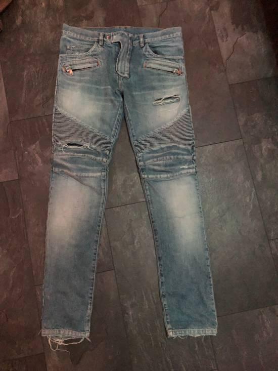 Balmain Balmain Biker Denim Jeans Size 33 Size US 33 - 14