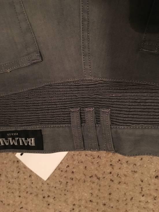 Balmain Balmain grey biker jeans Size US 34 / EU 50 - 10