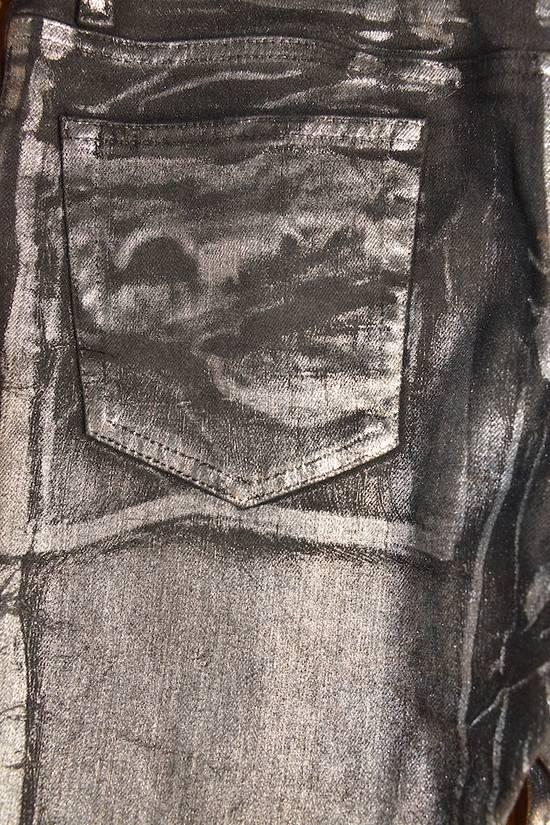 Balmain Silver stretch cropped pants Size US 33 - 11