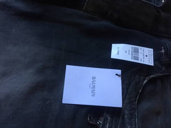 Balmain Distressed Biker Jeans Size US 34 / EU 50 - 1