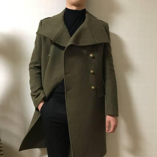 Balmain 11 FW Military high neck coat Size US M / EU 48-50 / 2 - 3