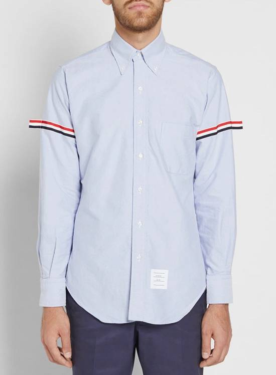 Thom Browne Thom Browne Armband Shirt Blue Size 3 Size US L / EU 52-54 / 3
