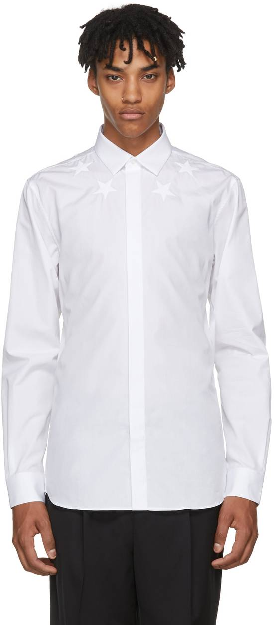 Givenchy Embroidered stars shirt Size US L / EU 52-54 / 3 - 1