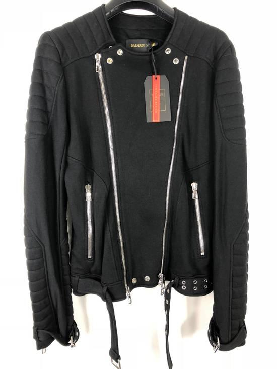 Balmain H&M X Balmain Moto Jacket Size US M / EU 48-50 / 2