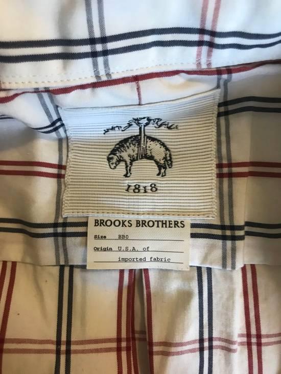 Thom Browne Black Fleece RWB Windowpane Button Up Broadcloth BB0 Size US XS / EU 42 / 0 - 2