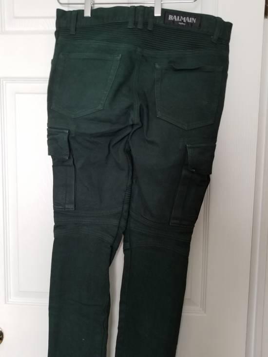 Balmain Balmain Cargo Moto Skinny Jeans Size US 28 / EU 44 - 6