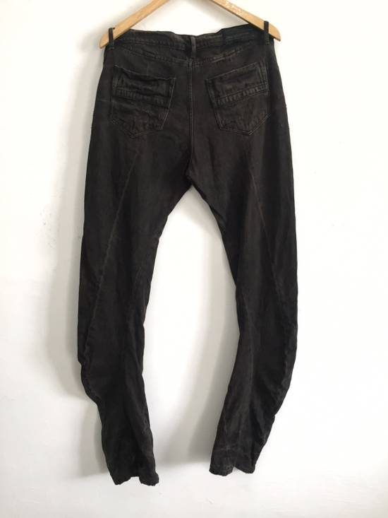 Julius [ NO MORE DROP AFTER THIS ! ] Canon_1 09 SS The Possesed Distressed Curve Pants Size US 34 / EU 50 - 1