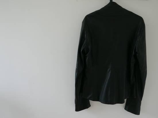 Julius Julius Kevlar Black Leather Jacket Size US S / EU 44-46 / 1 - 3