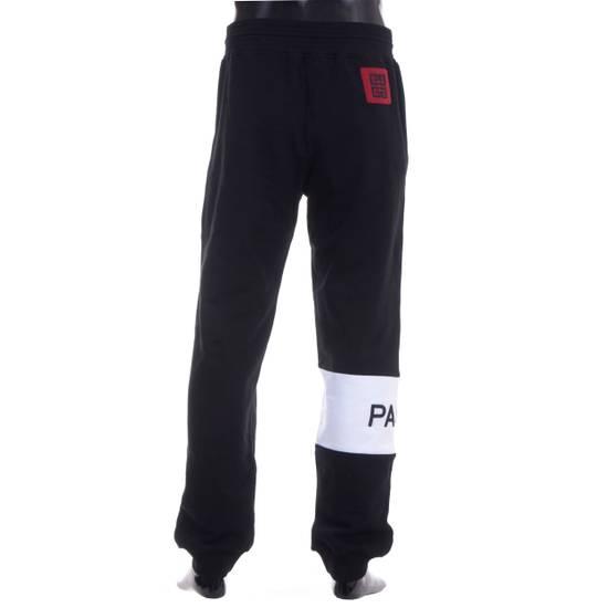 Givenchy Black Givenchy Paris Logo Embroidered Jogger Pants Size US 32 / EU 48 - 4