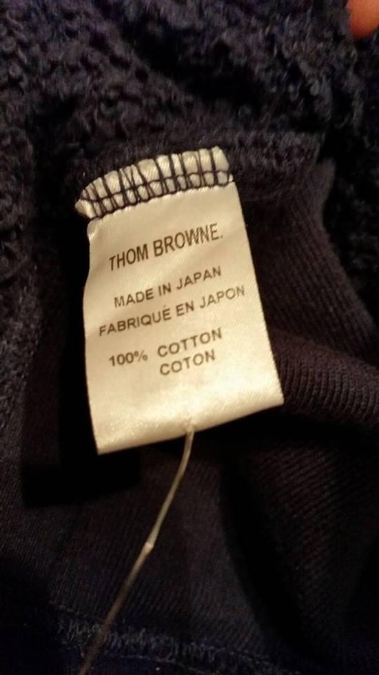 Thom Browne Navy crewneck sweatshirt Size US M / EU 48-50 / 2 - 8