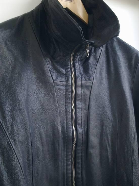 Julius Julius high collar Leather Jacket Size US L / EU 52-54 / 3