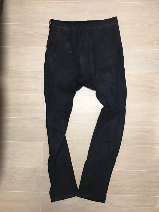 Julius Glitch Runway Waxed Jeans Size US 32 / EU 48
