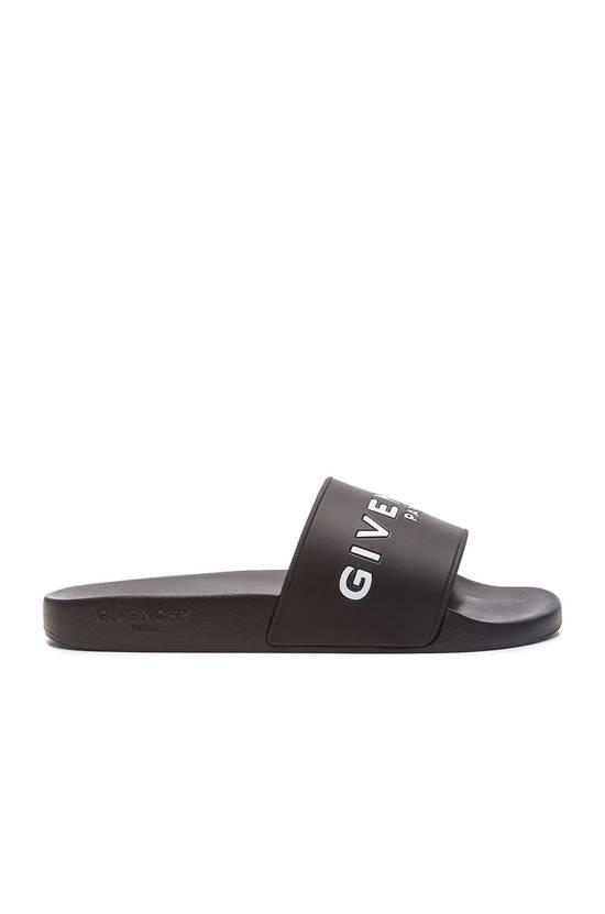 Givenchy Givenchy Logo Slide Sandals Black Size US 7 / EU 40 - 2