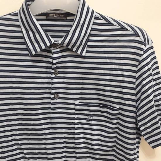 Givenchy Givenchy Paris Polo Shirt Striped Single Pocket Stretchable Fabric Luxury Top Designer Made in Italy Size US M / EU 48-50 / 2