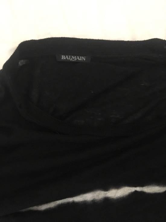 Balmain Tie-die Linen T-shirt Size US L / EU 52-54 / 3 - 1