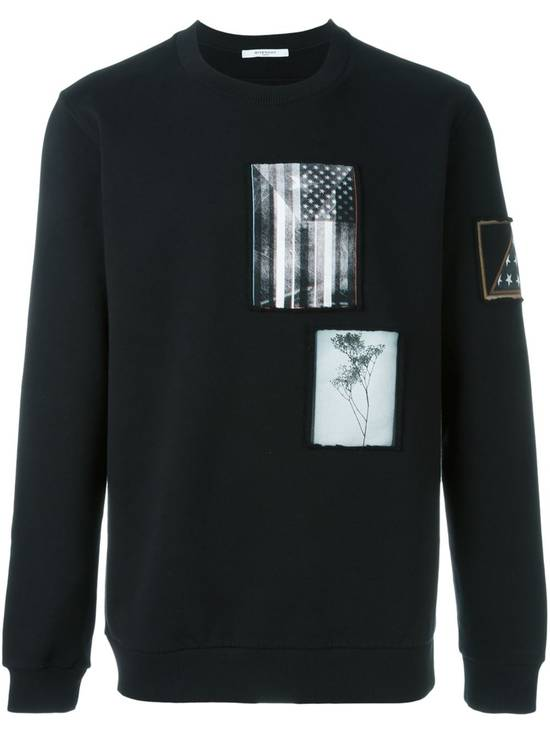Givenchy $870 Givenchy America Flag Patch Rottweiler Shark Star Sweater size XS (relaxed fit) Size US XS / EU 42 / 0 - 1