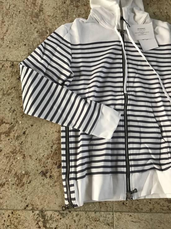 Balmain Stripe White & Grey Hoodie Size US S / EU 44-46 / 1 - 10
