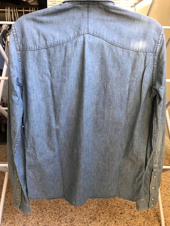 Balmain Balmain Decarnin Era Denim Shirt Size US M / EU 48-50 / 2 - 1