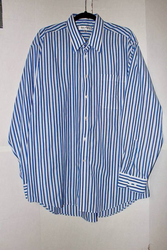 Balmain button up striped shirt Size US XL / EU 56 / 4