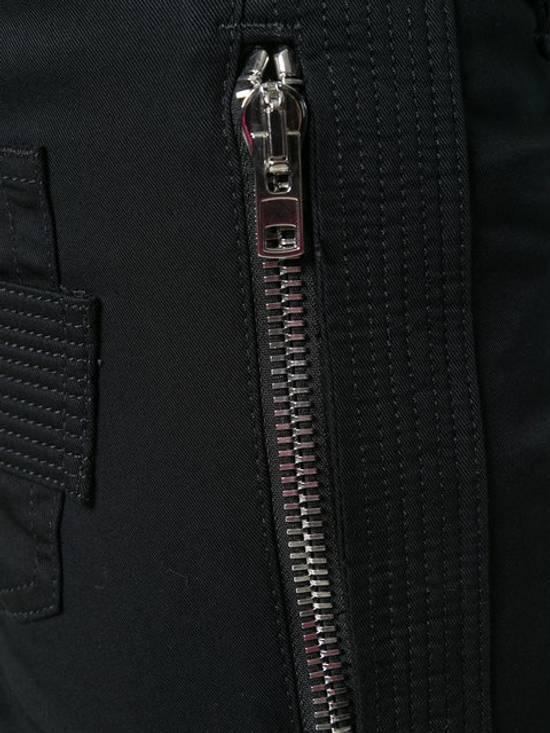 Givenchy Distressed Denim Biker Skinny Jeans, Black Size US 34 / EU 50 - 1