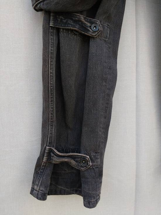 Julius Gas Mask Cargo Pants in Bown Denim AW09 Size 1 Size US 29 - 5