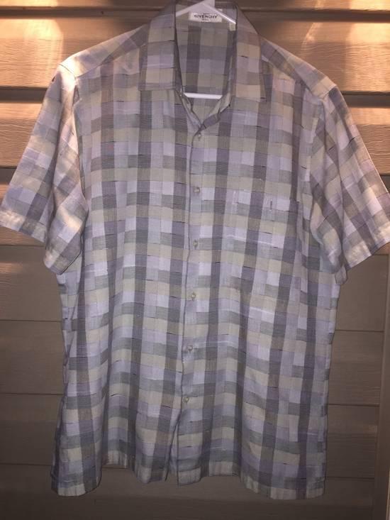 Givenchy Plaid Shirt Size US M / EU 48-50 / 2