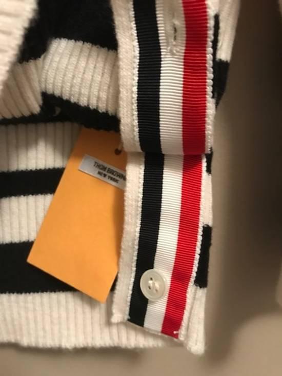 Thom Browne Cricket-Striped Cashmere Cardigan NEW Size US XL / EU 56 / 4 - 6