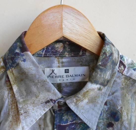 Balmain Vintage Balmain Silk Shirt Baroque not gucci balenciaga givenchy saint laurent balmain versace chanel hermes louis vuitton prada Size US M / EU 48-50 / 2 - 2