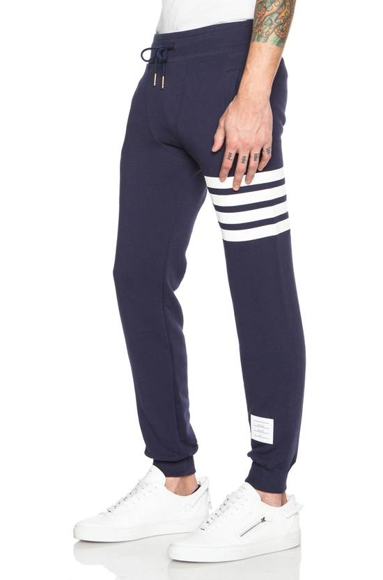 Thom Browne THOM BROWNE Navy 4 Bar Lounge Pants Size US 34 / EU 50
