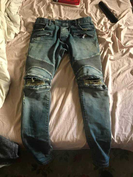 Balmain Balmain Light Blue Denim Size US 30 / EU 46