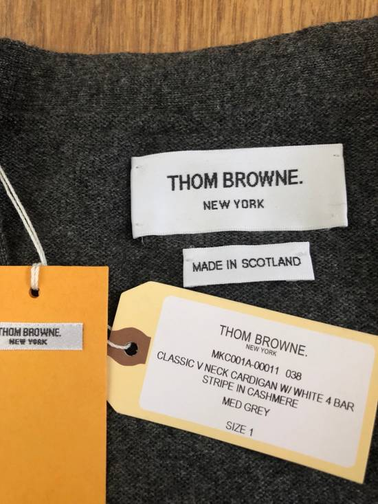 Thom Browne * FINAL DROP * Classic 4 Bar Cashmere Cardigan Size US S / EU 44-46 / 1 - 9