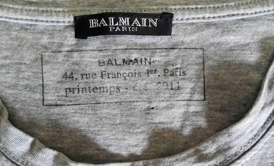 Balmain Distressed t-shirt Size US M / EU 48-50 / 2 - 3