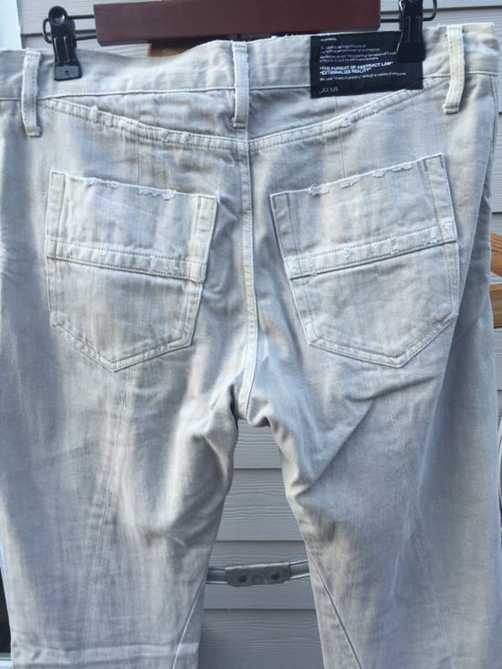 Julius SS09 Distressed J Cut Plaster Denim Size US 30 / EU 46 - 8