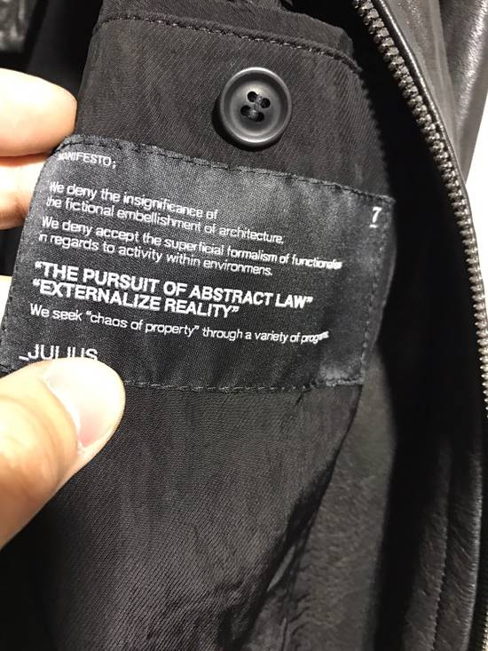 Julius leather jacket Size US S / EU 44-46 / 1 - 10
