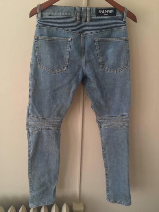 Balmain Balmain Bikers Sand Wash Jeans Size US 28 / EU 44 - 1