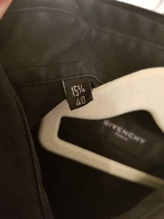 Givenchy Givenchy Zipper Tuxedo Bibb Style Black Shirt Size 40 Euro 15 3/4 Zip Detail Size US M / EU 48-50 / 2 - 3