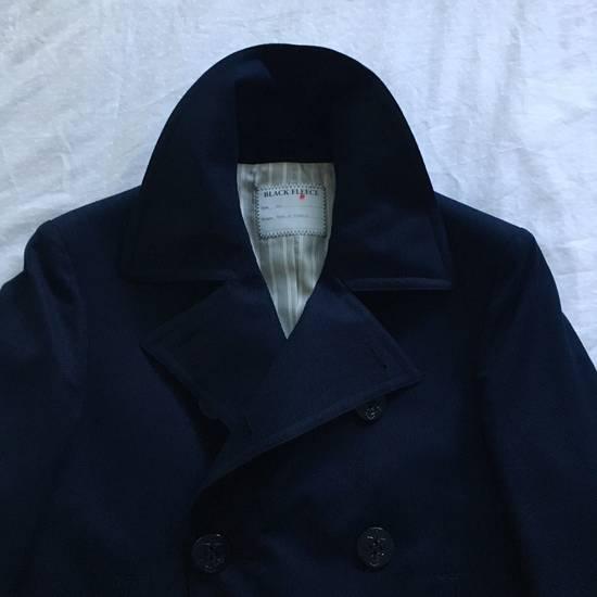 Thom Browne Black Fleece Modern Classic Peacoat Size US XS / EU 42 / 0 - 5
