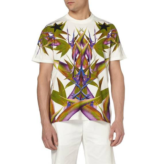 Givenchy White Birds of Paradise T-shirt Size US L / EU 52-54 / 3 - 7